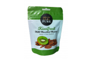 NZ Pure Kiwifruit Milk Chocolate Clusters 150g