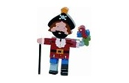Flexi Captain Blackbeard -wooden toy
