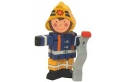 Flexi Fireman-wooden toy