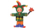 Flexi Jester-wooden toy