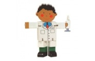 Flexi Doctor-wooden toy